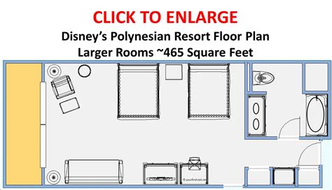 polynesian hotel room layout photo tour of a larger refurbished room at disney s