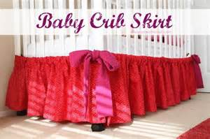 diy tutorial baby shower diy baby crib skirt a