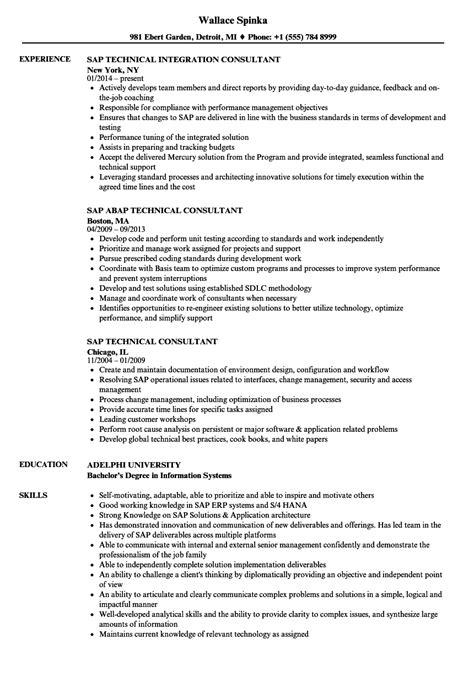 sap abap sample resumes 13 resume sample for hr trainee copy hertz