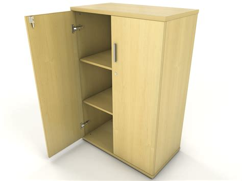 Cupboard Open Maple Office Storage Cupboard Icarus Office Furniture