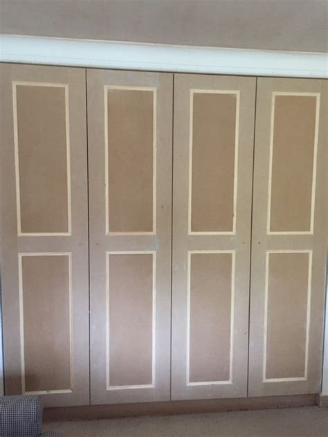 D Fitted Wardrobes by Painting Newly Made Fitted Wardrobes