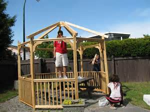 plans to build a house how to build a gazebo we secret to simplify it