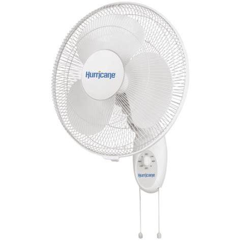 hurricane wall mount fan hurricane 174 supreme oscillating wall mount fan 16 in