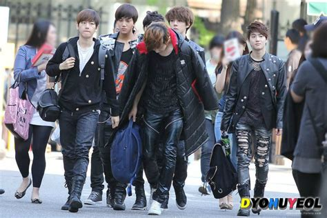 exo music bank 120504 exo k heading to kbs music bank exo 엑소 photo