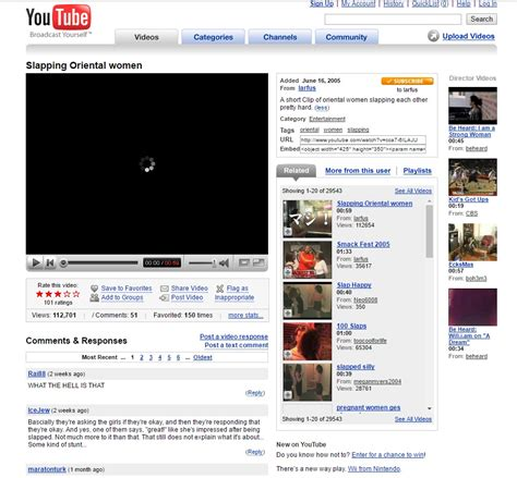 youtube layout through the years kids today will never know how majestic the internet late