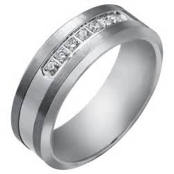 tungsten wedding bands for men