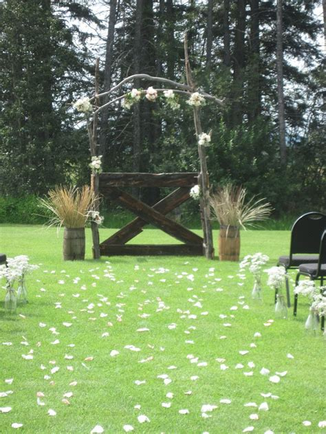 how to make a rustic wedding arch rustic diy wedding arch my wedding