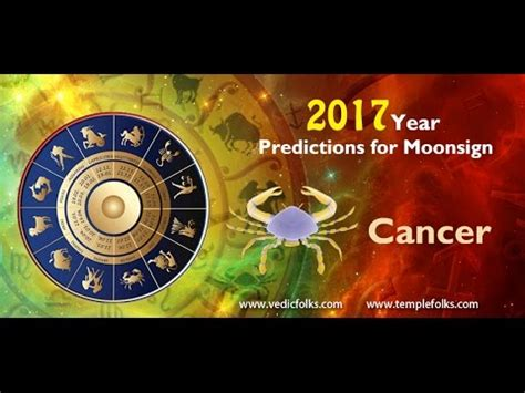 new year 2017 zodiac predictions cancer horoscope 2017 new year prediction vedicfolks