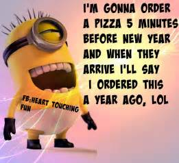 funny minion new year quote pictures photos and images