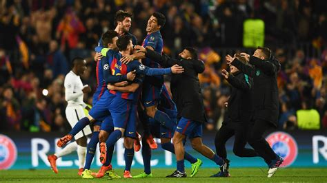 barcelona psg 6 1 barcelona s miraculous chions league comeback means an