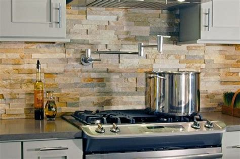 rock kitchen backsplash 29 cool stone and rock kitchen backsplashes that wow