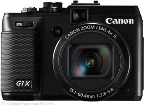 cannon digital canon powershot g1 x review