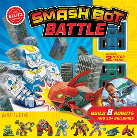 smash bot battle klutz smash bot battle by editors of klutz scholastic