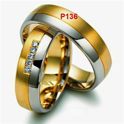 foto model cincin unik minimalis untuk nikahan berlapis