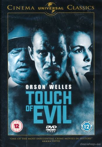 se filmer touch of evil gratis touch of evil import sv text dvd discshop se