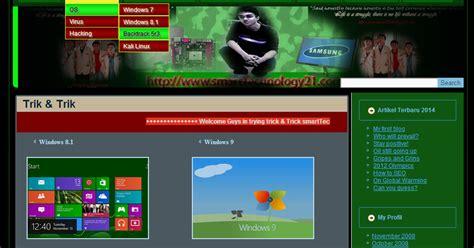 template joomla keren desain template website keren dengan artisteer
