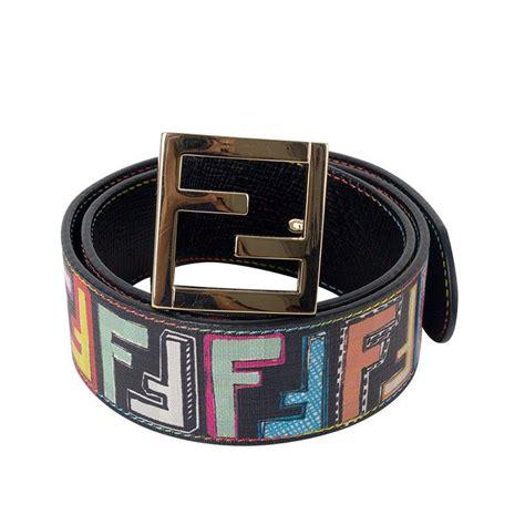 multicolor fendi belt cheap year