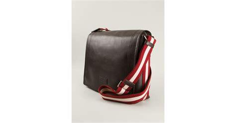Bally Bottine Messenger Bag bally medium triar messenger bag in brown for lyst