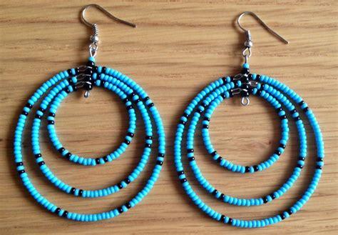 Handmade Beaded Jewellery Uk - maasai handmade africa ethnic jewelry beaded multi color