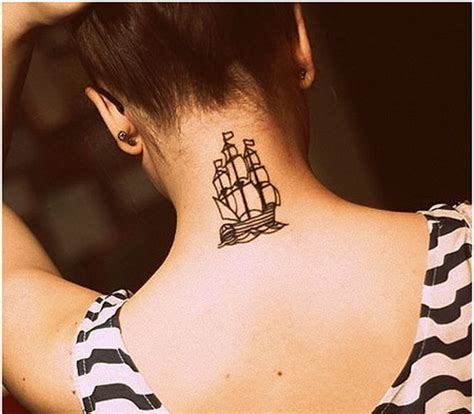 simple neck tattoo designs 101 pretty back of neck tattoos