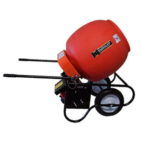 gas cement mixer rental the home depot