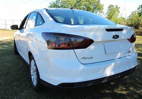 2014 ford focus tail light 2012 2014 ford focus sedan smoke tail light precut tint
