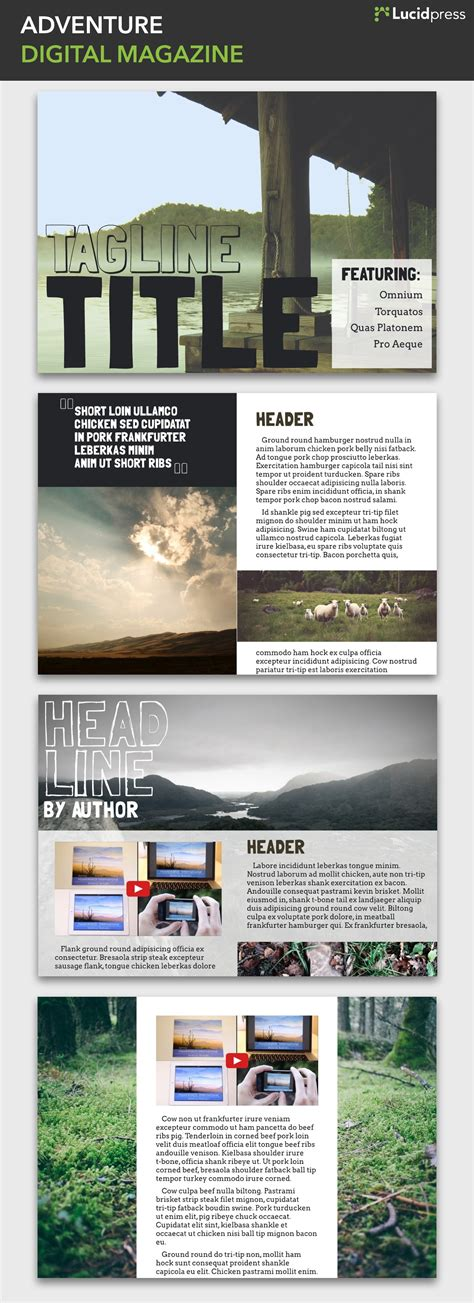 magazine layout blog 14 magazine layout design ideas for your inspiration