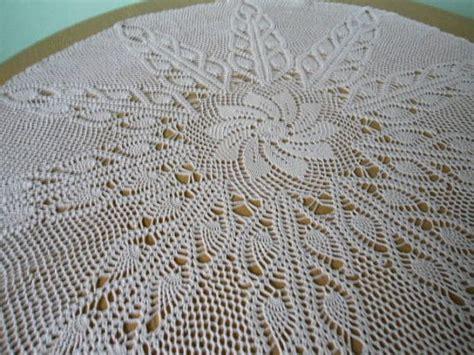 manteles tejido a crochet con tela manteles tejidos a crochet redondos imagui manteles