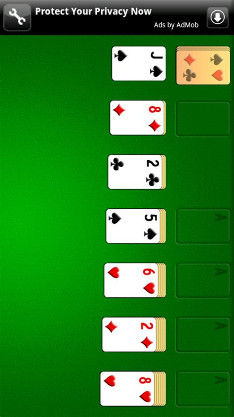 free solitaire for android solitaire free apk android app android freeware