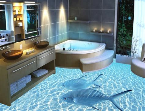 bathroom floor 3d art 16 extremely amazing 3d flooring designs to beautify your home
