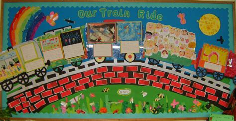 train ride classroom display photo sparklebox