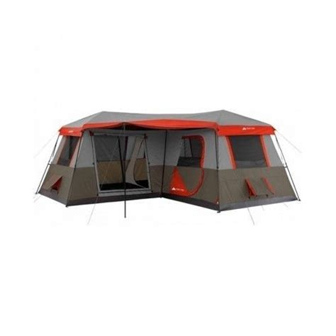 Large Cabin Tent by Family Cing Tent Outdoor Cabin 12 Person 3 Room Xl