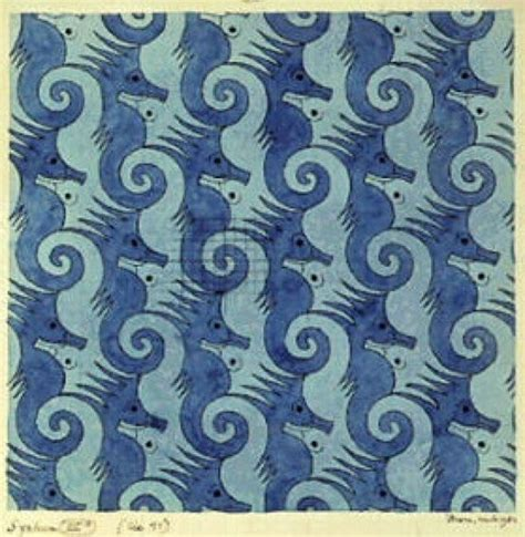 m pattern in c m c escher txn pinterest dark blue light blue and