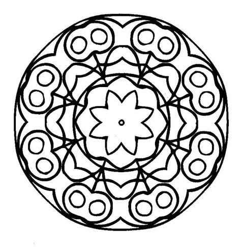 mandala coloring book printable mandalas coloring part 4
