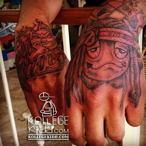 chief keef tattoos tadoe gets glo tattoos welcome to kollegekidd