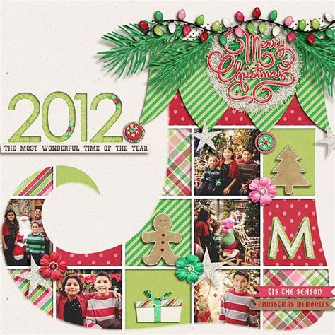 scrapbook layout christmas scrapbooking layout scrapbooking 2 pinterest