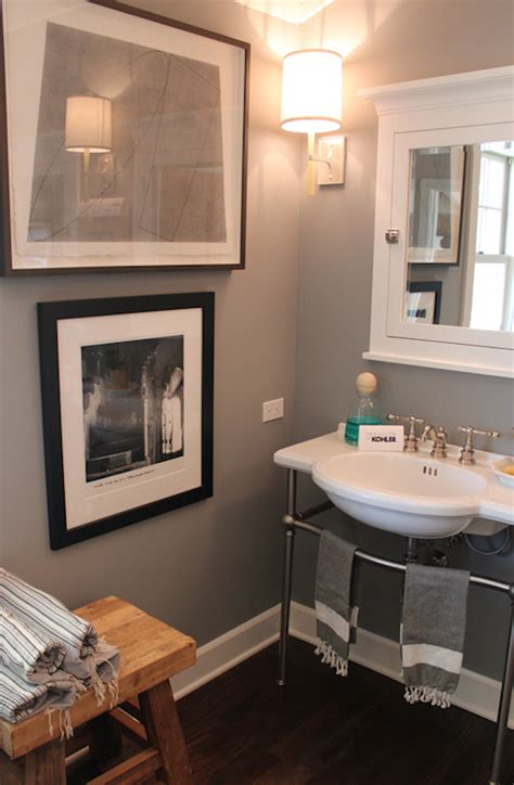 bathrooms with grey walls interior design inspiration photos by brown design