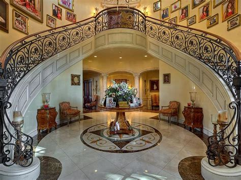 luxury homes decorated for fort lauderdale mediterranean style estate with beautiful grand staircase idesignarch