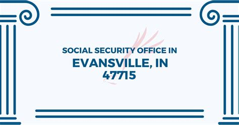 social security office in evansville indiana 47715 get