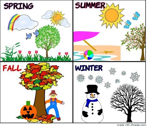 living the seasons of fall and winter books four seasons cliparts free clip free clip