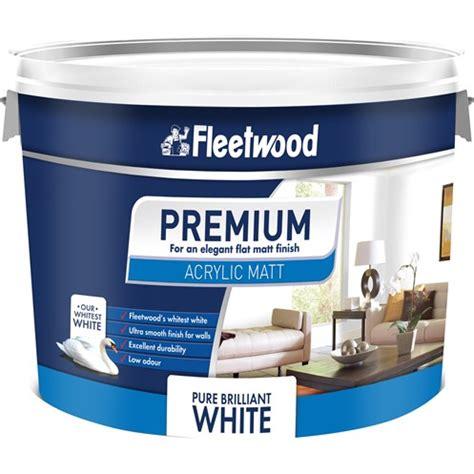 Acrylic Emulsion Paint fleetwood acrylic matt emulsion brilliant white paint 10