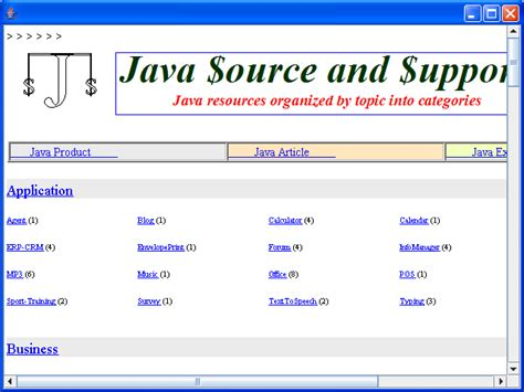 java swing event demonstrating the hyperlinklistener various event