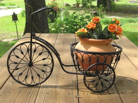 Iron Bicycle Planter by Bicycle Plant Stand Flower Pot Holder Iron Bike Indoor