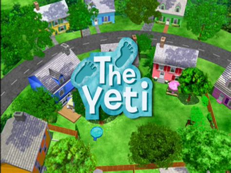 Backyardigans The Yeti The Yeti The Backyardigans Wiki