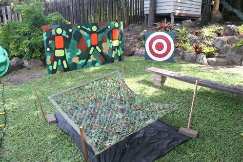Backyard Nerf Nerf Wars Birthday Ideas Photo 50 Of 77 Catch My