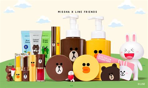 Harga Missha X Line Friends missha x line friends推出聯名彩妝系列 萌翻女孩們的少女心 the femin
