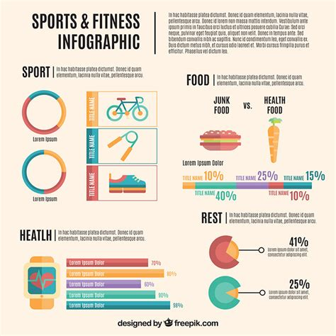 40 Free Infographic Templates To Download Hongkiat Fitness Infographic Template