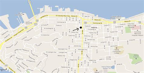 map astoria oregon flavel house museum grand dame of astoria