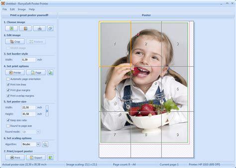 printable free poster maker poster printer screenshots software to print own large
