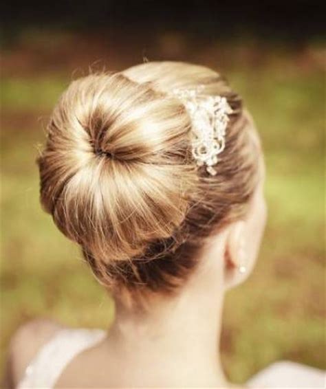 Wedding Hair Ballerina Bun by Ballerina Bun Wedding Hairdo Prom Wedding Formal